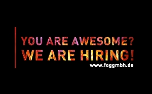YOU ARE AWESOME? - WE ARE HIRING!